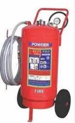 ABC Higher Capacity Trolley Mounted Dry Chemical Powder Type Fire Extinguisher