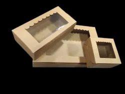 Brownie Box With Window