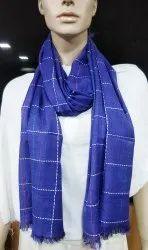 Casual Wear Royal Blue Rayon Multi Colour Box