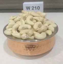 Natural Wholes Raw Cashew Nuts, Grade: W210