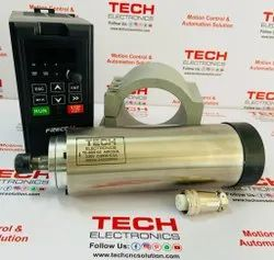 Tech Single Phase 800W Watercool Spindle Motor, Size: 161.5 mm, 220V