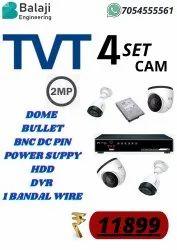 TVT  4 CAMERA  SET