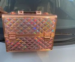 vanity makeup cosmetic case with tray
