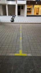 Axnoy黄色汽车停车螺柱,型号名称/数字:AXN-PPS