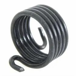 Black Stainless Steel Wire Clutch Spring, Style: Compression, Plastic Bag