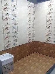 Bird bathroom decorative tiles