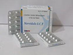 Levo-carnitine + Methylcobalamin + Folic Acid