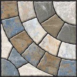 Matte Beige 12x12 Heavy Duty Vitrified Parking Tiles, Thickness: 10 - 12 mm, Size: Medium
