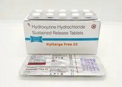 Hydroxizine 25 mg tablets - KYLLERGE FREE 25