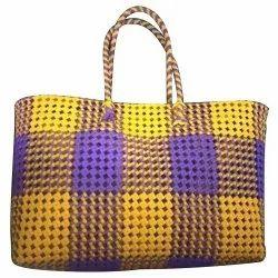 Hand Handled Canvas Handmade Designer Bag, For Casual Wear, Capacity: 5kg