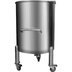 SS Round Bottom Storage Tank