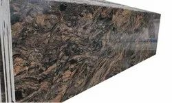 Venetian Polished Granite Slab, For Countertops, Thickness: 24 mm