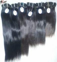 Short Straight Human Hair Extension