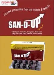 Super Antioxidant Soft Gelatin Capsules