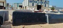 Polished Rajasthan Fish Black Granite Slab, For Flooring, Thickness: 15-20mm