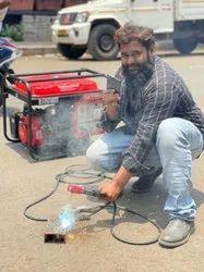 10 Kw Bajaj M Low Noise Petrol Portable Generator Delhiwala Abdullah