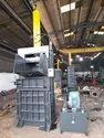 Single Container Twin Cylinder Baler Machine
