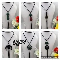 western long necklace