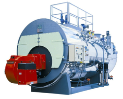 Oil & Gas Fired 500 Kg/hr Steam Boiler, Non IBR