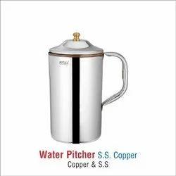 stainless steel copper water jug -131 plain