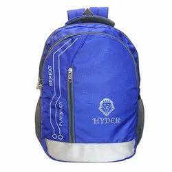 Polyester Printed Hyder School Bag/ College Bag