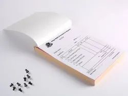 Binded Paper Bill Books, For Corporate And Retail, Custom