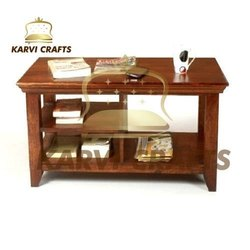 Wooden Wood Teapoy, Size: 36*21 Inches