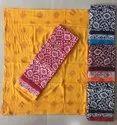 Cotton Batik Dress Material, Multiple