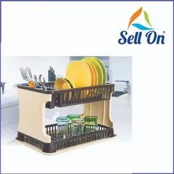 Kitchen Organizer Rack With Water Storing Tray