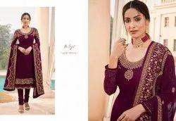 LT Fabrics Nitya Zyrah 105 Colors Suits
