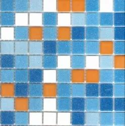 Glass Mosaic Tile, Thickness: 3.5mm, Size: 20mmx20mm
