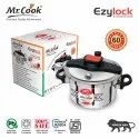 Mrcook Ezylock Stainless Steel Pressure Cooker, For Home, Capacity: 3 Litres And 5 Litres
