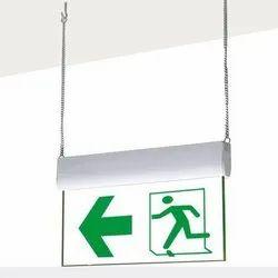 LED Curved Exit / Egress Lights
