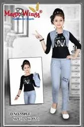 Kids Girls Jeans And Top
