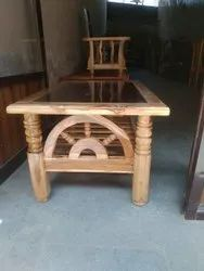 Natural Wooden T Pai Table