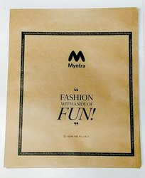 Myntra Paper Bag-S (8x10 Inch)Lip Lock