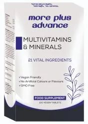 Multivitamin And  Minerals tablets
