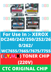 CTC Xerox Toner Chip 220V