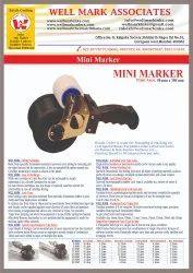 Mini Carton Coder Machine 50 Mm X 350 Mm