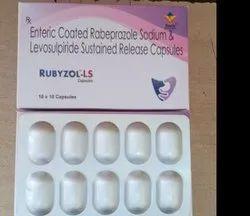 Enteric Coated Rabeprazole Sodium & Levosulpiride Sustained Release Capsules