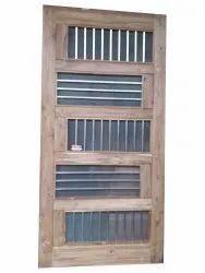 Wooden Hinged Door, For Home, 6 X 3