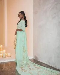 Embroidery As Shown In Picture Somali Wedding Dress