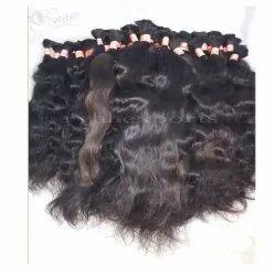 Wavy Indian Bulk Human Hair