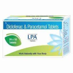 Diclofenac & Paracetamol tablets