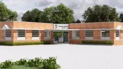 Concrete Frame Structures School Building Construction Service