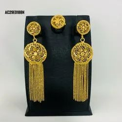 Gold Plated Fashion Earrings