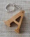 Nirmala Handicrafts Wooden Key Chain Antique Keyring