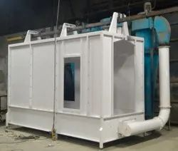 Fusion Thermions Aluminium & Steel Powder Coating Booths, Automation Grade: Manual