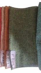 Green Plain Jute Fabric, For Sofa, Plain/Solids