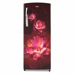 3 Star Red 200 L Whirlpool Single Door Ice Magic Pro Refrigerator